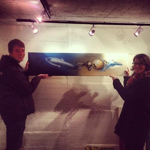 Katrin & Christoph mit ihrer neuen Errungenschaft