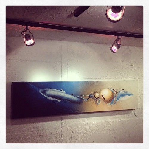 SEAK Piece from early 2002 at the buying showroom in Köln 2013
