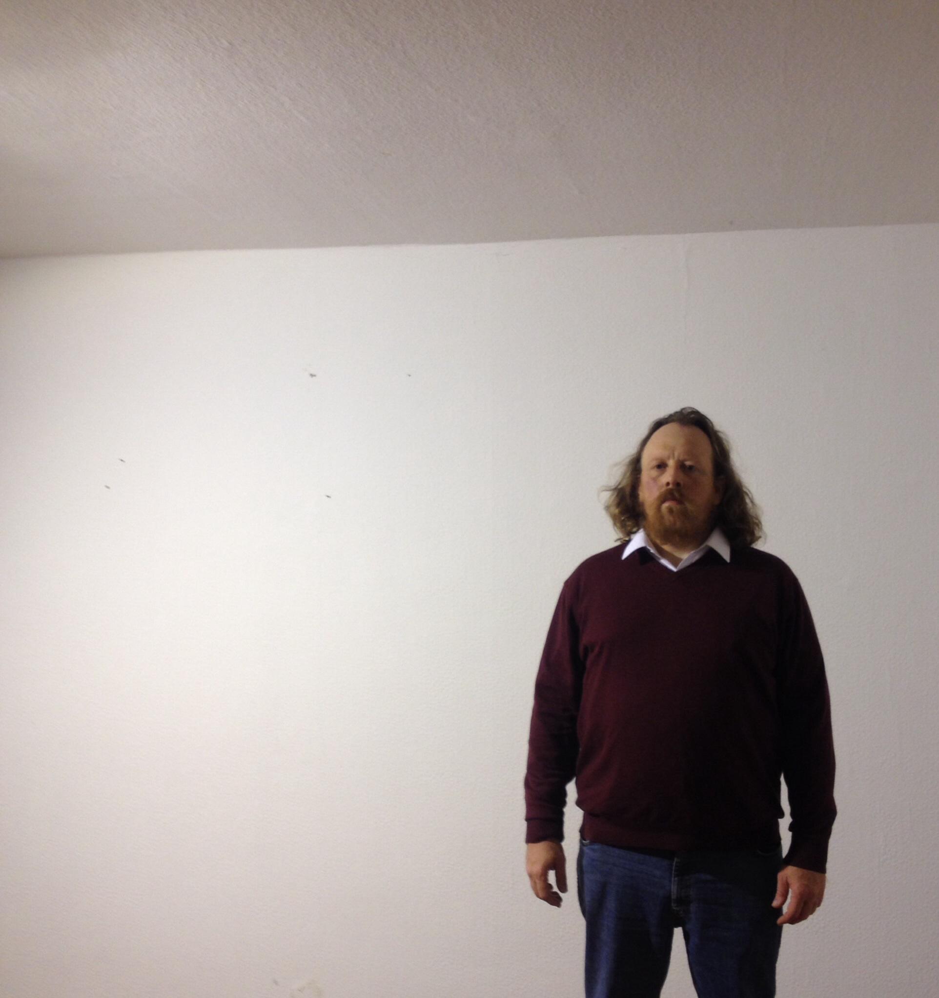 Claus Seak Winkler in his studio-showroom. September 2015